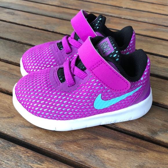 Nike Shoes Baby Girl 4c Free Rn Tdv Nwt Poshmark
